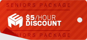 Seniors Package - $5/hour discount